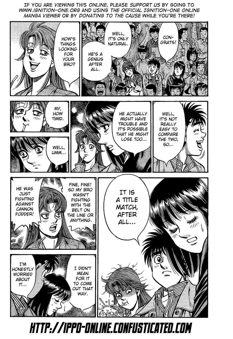 Hajime no Ippo - Chapter 853
