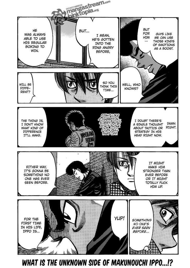 Hajime no Ippo - Chapter 931